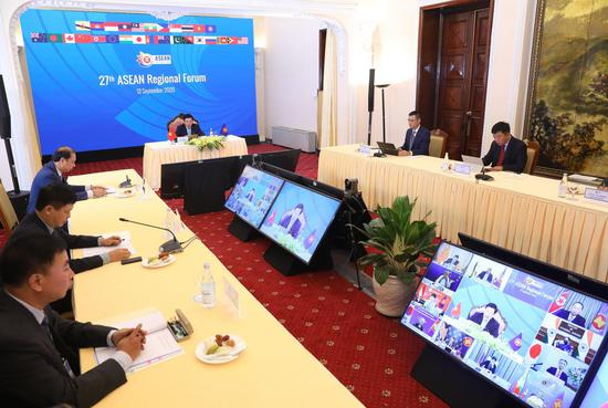China, ASEAN, other regional countries to step up cooperatio